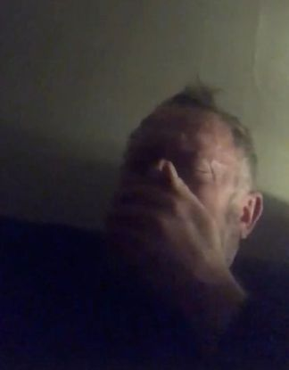 WATCH: British Man With Coronavirus Films Himself Having Vicious Coughing Fit That Brings Him to Tears as He Struggles to Breathe and Suffers Hallucinations from Fever