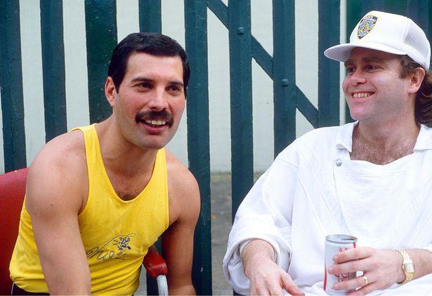 Freddie was a close friend of Elton John