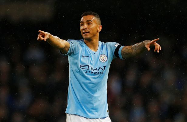 Danilo failed to live up to his £27million price tag at the Etihad