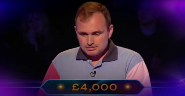 Charles Ingram had only reached £ 4,000 on the first day