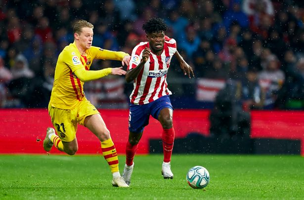Atletico wants to tie Partey to a new agreement to ward off Arsenal