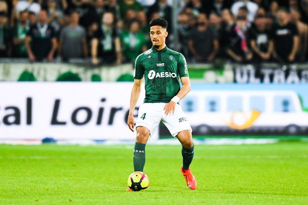 William Saliba arrived from St Etienne with great expectations on his shoulders