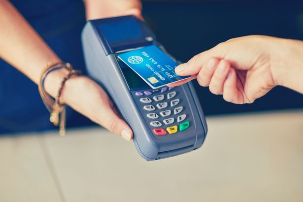 Contactless payments are encouraged