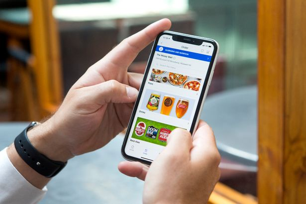 Customers can order with the Wetherspoons app without having to go to the bar