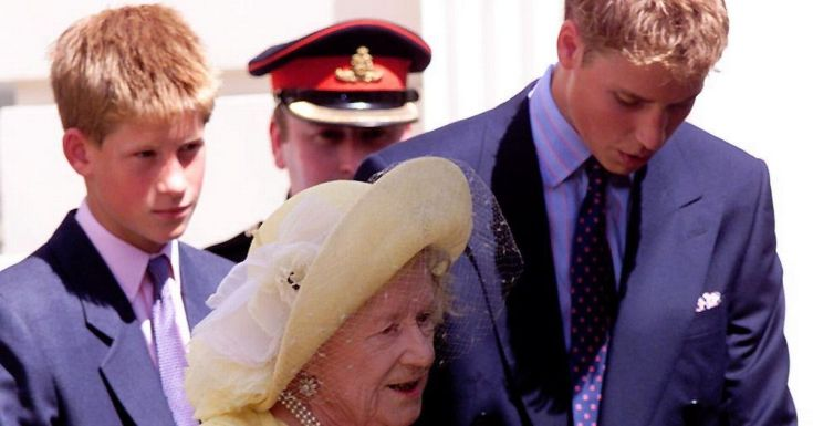 Queen Mother treated 'spare to the heir' Harry drastically different to William