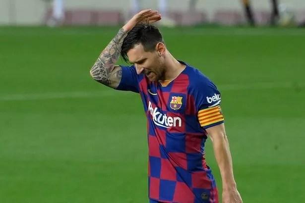 Messi está desilusionado con la dirección en la que se dirige el Barça