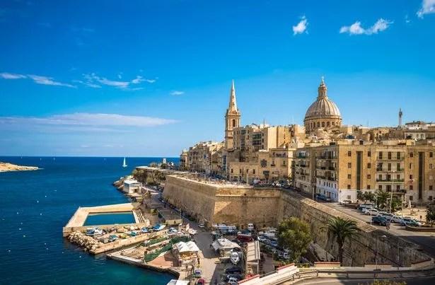 0 View of Valletta the capital of Malta