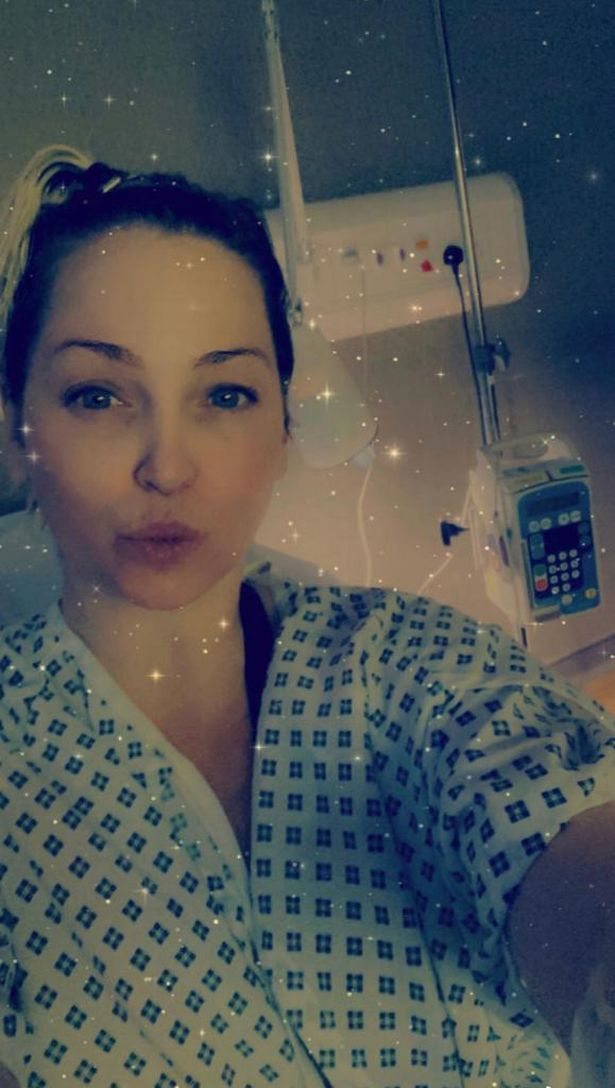 Sarah Harding fights cancer