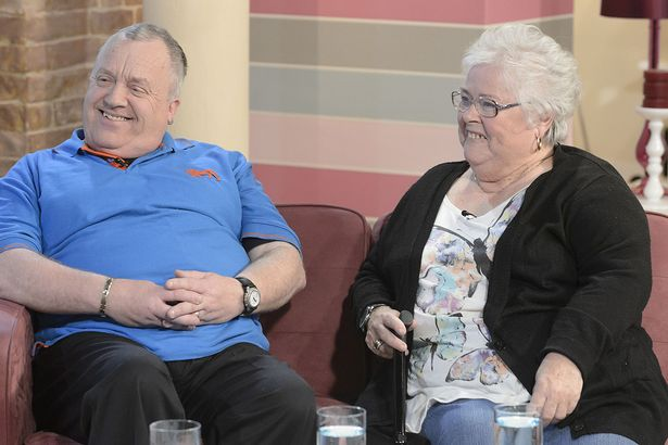 Clive and Brenda on This Morning eight years ago