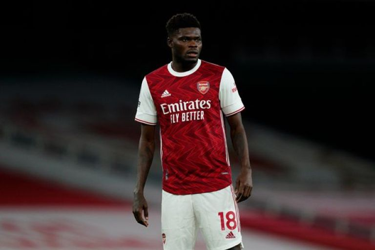 Image result for thomas partey arsenal