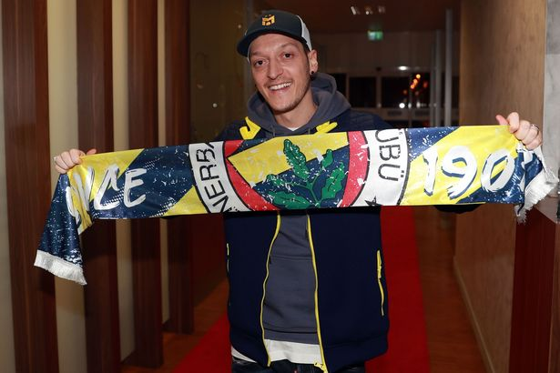 Mesut Ozil's farewell message to Arsenal as Fenerbahce transfer confirmed -  Mirror Online