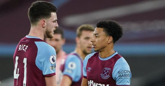 """Jesse Lingard """"puts ego to one side"""" after awkward penalty exchange with Declan Rice"""