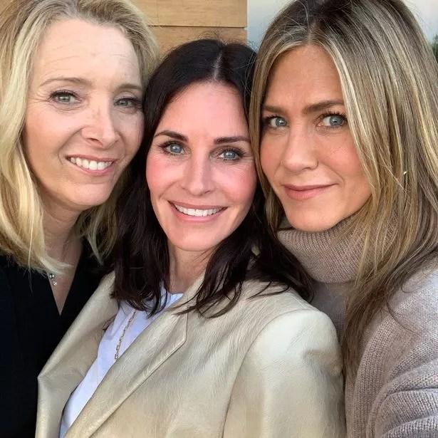 Courteney Cox, Jennifer Aniston et Lisa Kudrow
