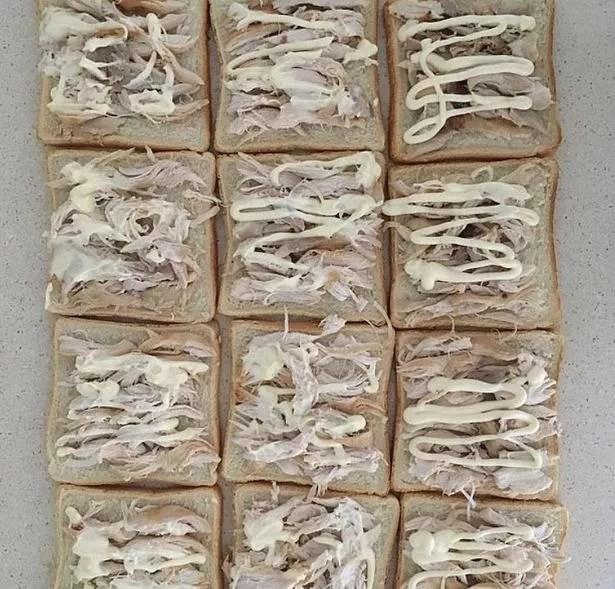 Sandwiches prepared by Jeni Bonell