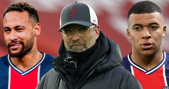 Neymar's prediction about Jurgen Klopp and why Kylian Mbappe will think a little
