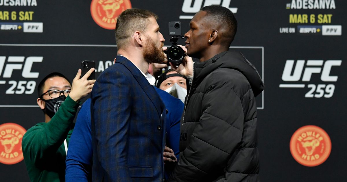 UFC 259 fight card Adesanya vs Blachowicz: UK time, TV channel and live stream - Mirror Online