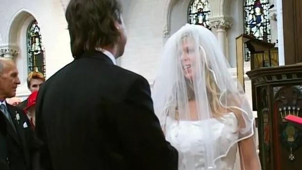 Derek and Kate at their wedding in 2005