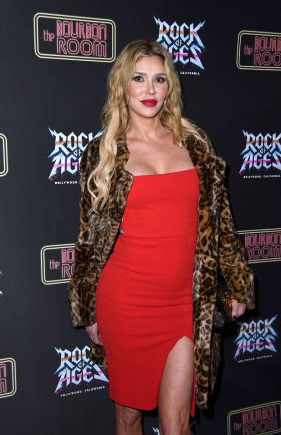Brandi Glanville attends the Opening Night of Rock of Ages Hollywood at the Bourbon Room at The Bourbon Room on January 15, 2020.