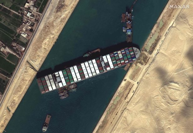 The Suez Canal crash caused global delivery delays