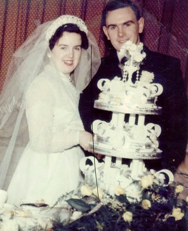 Colin and Evelyn Robinson, kept apart by Covid, reunited for their 65th wedding anniversary