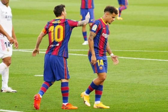 Philippe Coutinho is the player that Barca's bosses most want to unload