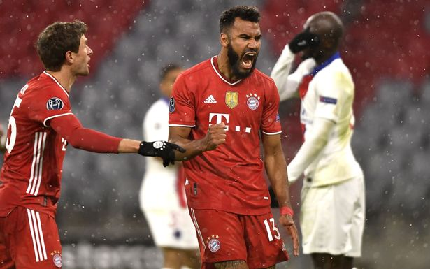 Choupo-Moting scored against his former club