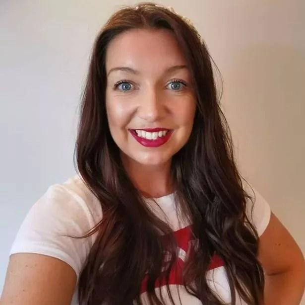 Jen Atkinson who runs On The Lash beauty in Wooburn Green, Bucks