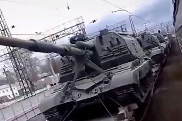 Siły rosyjskie obejmują szacunkowo 1300 czołgów