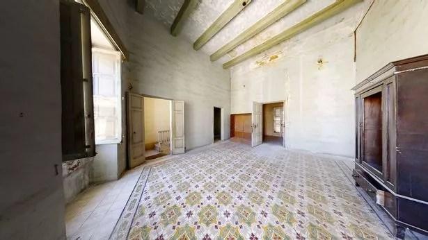 Villa Guardamangia interior