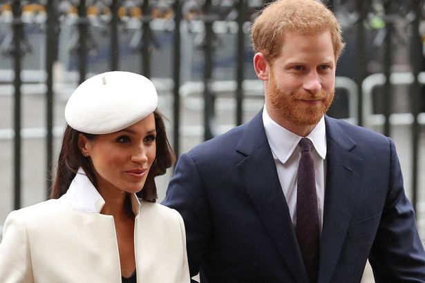 Harry and Meghan stepped away from the royal family last year