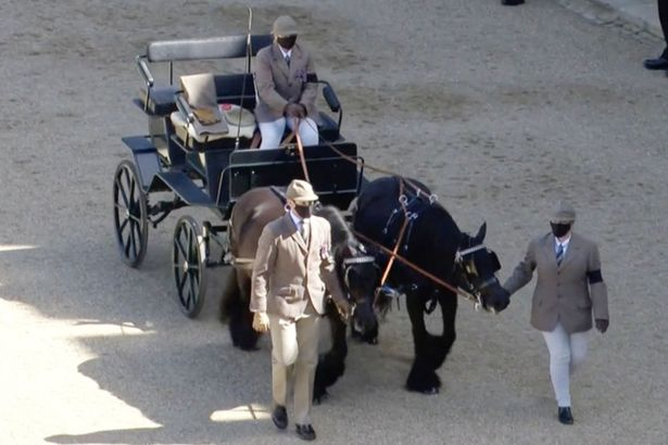 The Duke's passion for carriage-driving was acknowledged ahead of his funeral