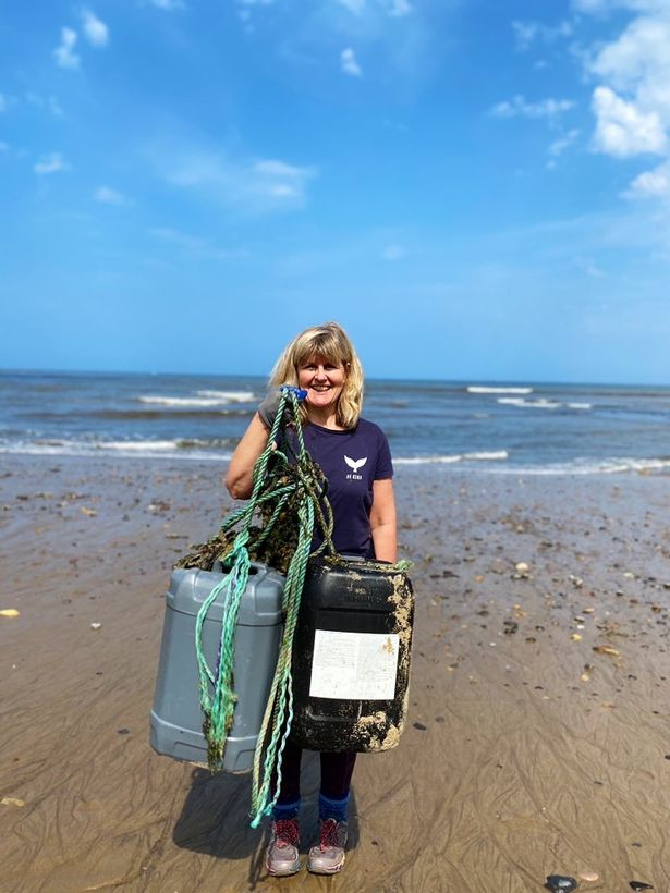 Single mum Jo Moseley credits litter picking with helping her overcome anxiety and believes doing a two minute clean up every day can give everyone the chance to regain control of their lives