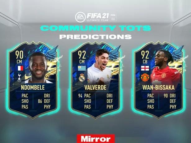 FIFA 21 Ultimate Team Community TOTS loading screen predictions