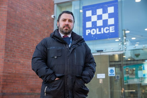 Det Sgt Paddy O'Keefe, of Northumbria Police, worked on the probe