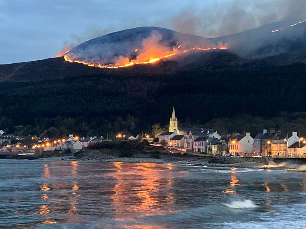 The fire began in the early hours of Friday morning
