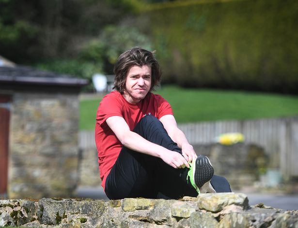 Harry now plans on running 100km to raise money for mental health charity, Mind