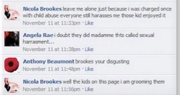 A troll set up a fake cloan account of Nicola