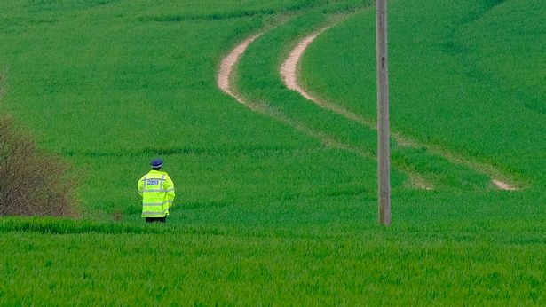 Police have closed off large parts of the area around Aylesham