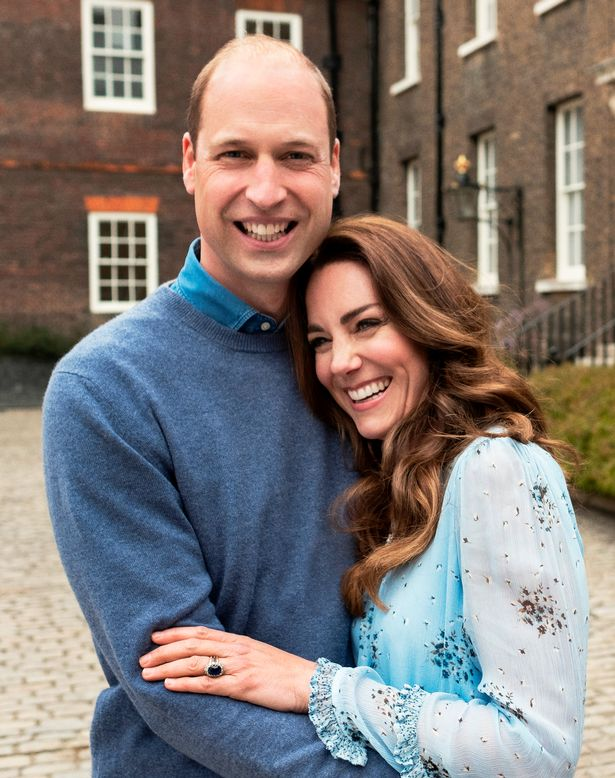 The Cambridges released two new portraits to mark their anniversary