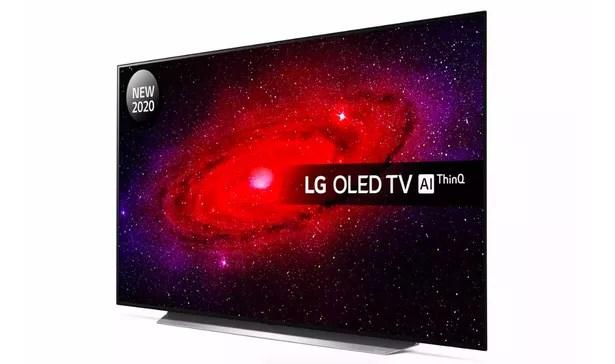 LG 55 Inch 55CX5LB AEK 4K Smart UHD OLED Freeview TV