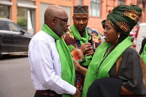 The Funeral of Richard Okorogheye, St Thomas Kensal Town Church London