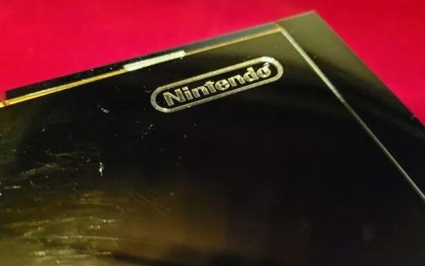 24-karat gold Nintendo Wii
