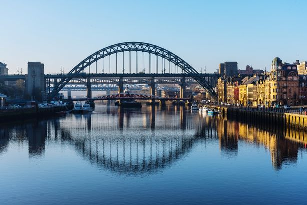 A general view of the Tyne Bridge in Newcastle
