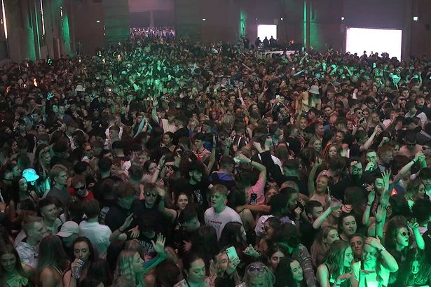 Around 3000 people attended the pilot event at the Circus Nightclub at Bramley-Moore Dock, Liverpool