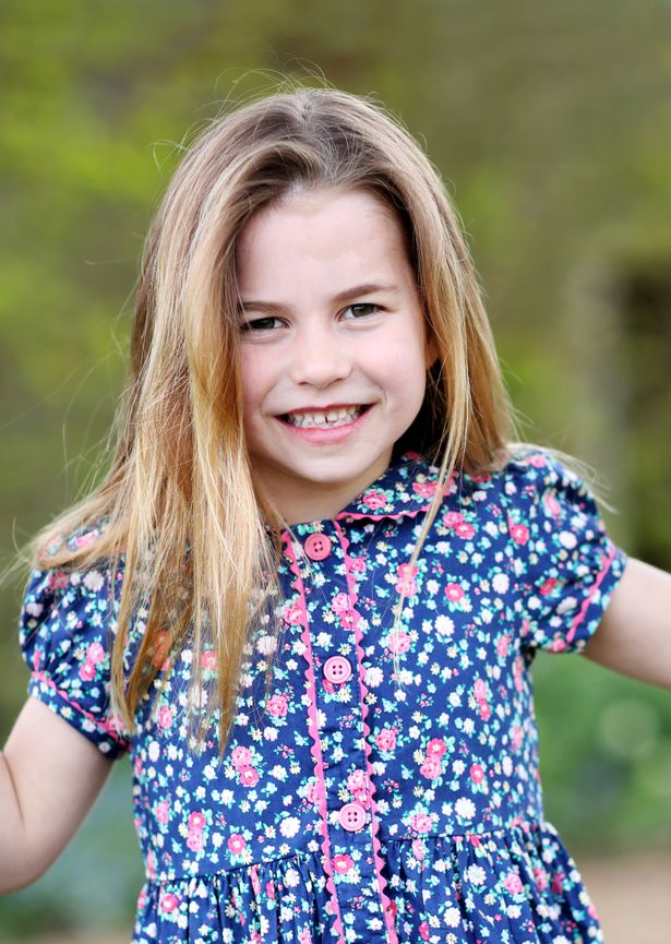 Princess Charlotte on 6th birthday