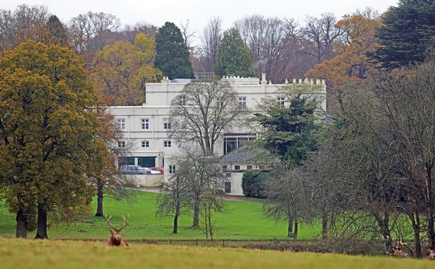 A general view of Royal Lodge, Windsor