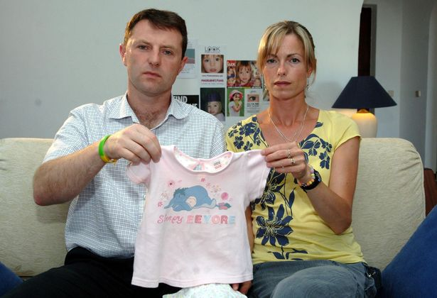 Kate and Gerry, 53, of Rothley, Leics, refuse to give up hope that Madeleine is still alive and will one day be found.