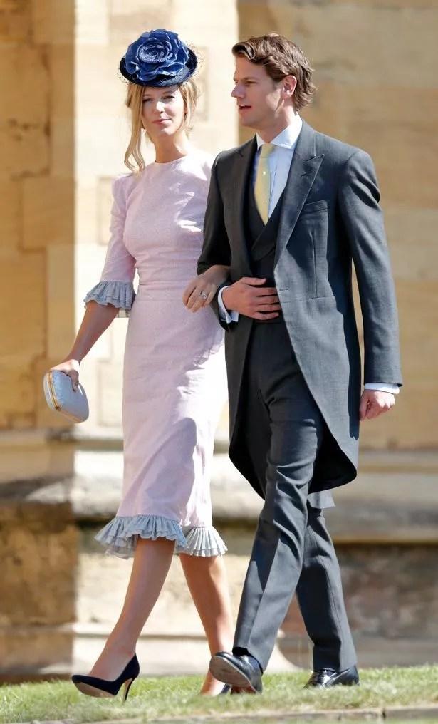 Olivia Hunt et son mari Nicholas Wilkinson