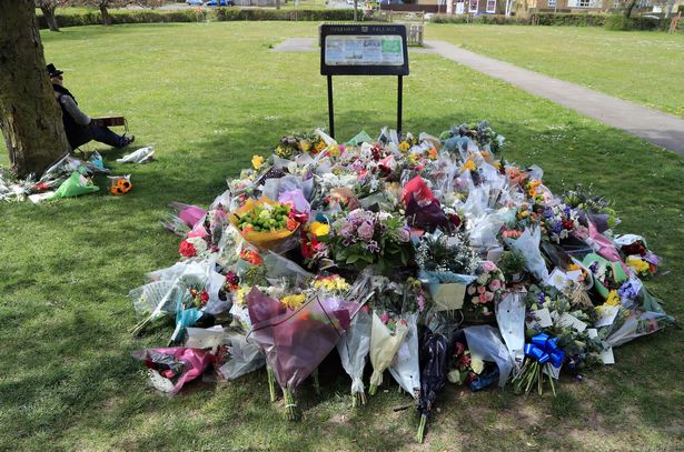 People have been urged to light candles outside their homes rather than gather for a vigil