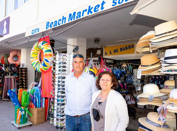 Shop owners Carlos and Eduarda Fernandes recounted their struggle